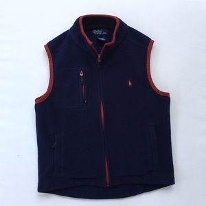 Polo Fleece Vest